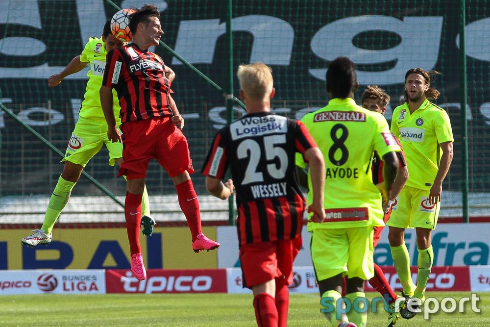 FC Admira Wacker Mödling, FK Austria Wien, BSFZ Arena, tipico Bundesliga
