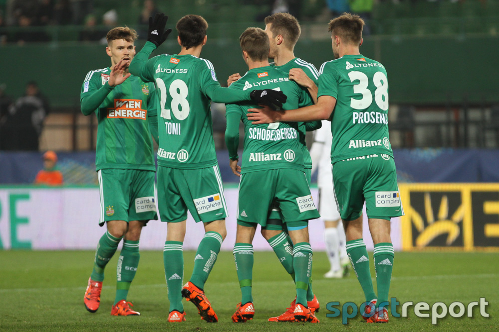Rapid Wien zurück auf der Siegerstraße - Hütteldorfer holen Sieg gegen Sturm Graz