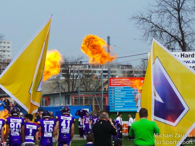 Vienna Vikings, Ljubljana Silverhawks, FAC-Platz, AFL