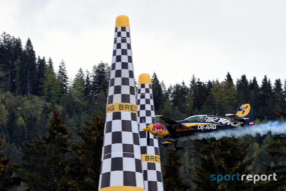 Red Bull Air Race - Martin Sonka mit Bestzeit im Training