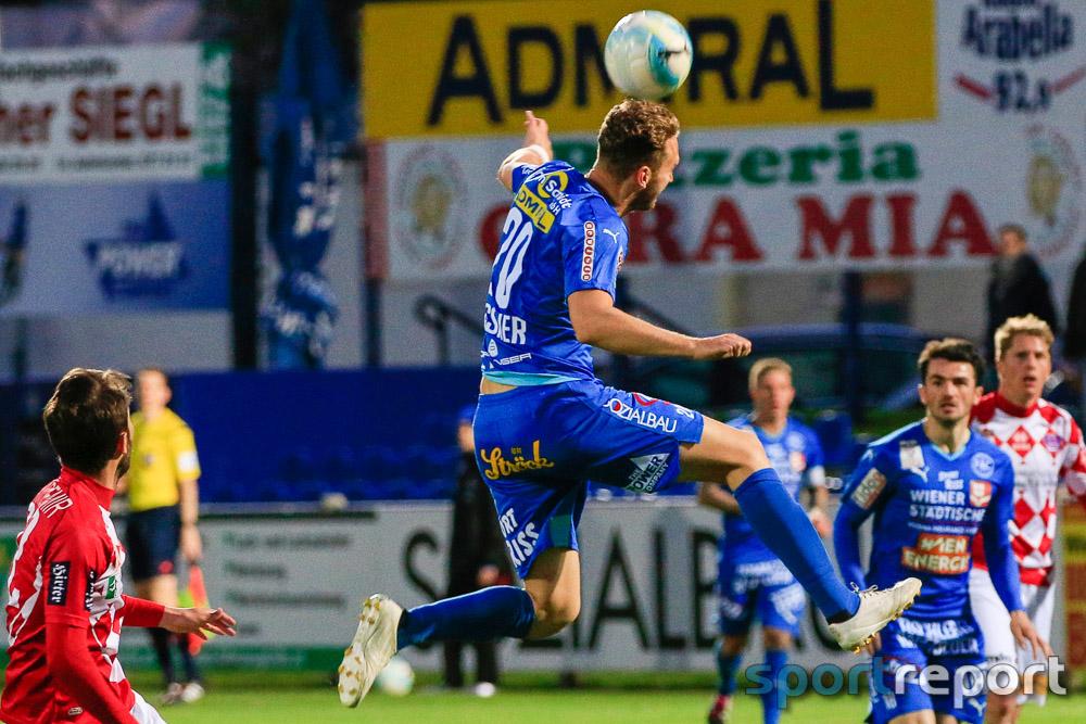Floridsdorfer AC (FAC), SK Austria Klagenfurt, FAC Platz, Sky Go Erste Liga