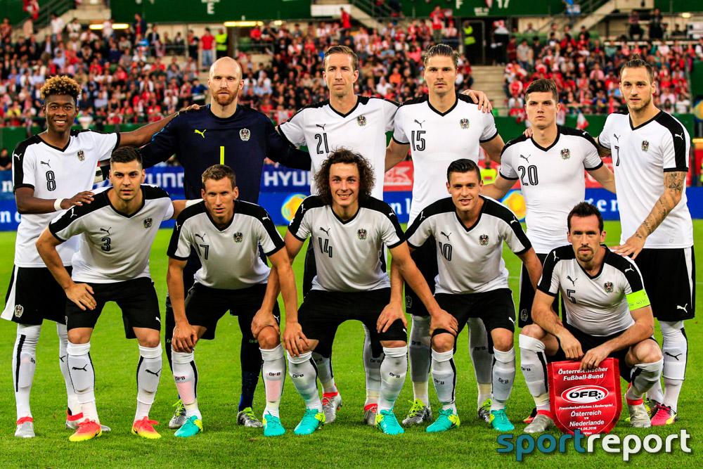 Österreich muss nach Niederlage gegen Island die Koffer packen