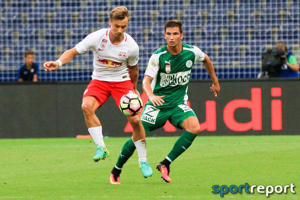 FC Red Bull Salzburg muss am Samstag zum SV Mattersburg