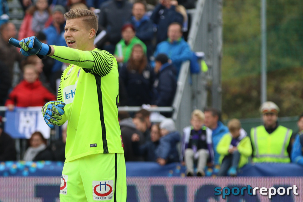 Austria Wien bindet Goalie Patrick Pentz langfristig