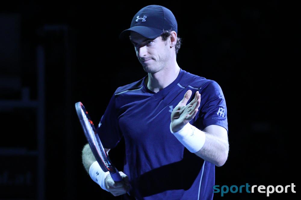 Andy Murray geht bei Auftaktsieg über Martin Klizan über die volle Dreisatz-Distanz