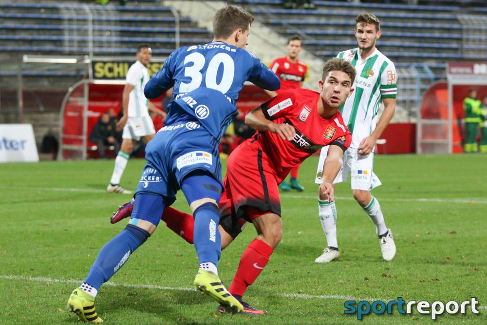 FC Admira Wacker Mödling, SK Rapid Wien, BSFZ Arena, tipico Bundesliga