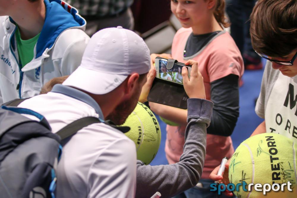 Tennis, Sonntag, Wiener Stadthalle, Erste Bank Open 500