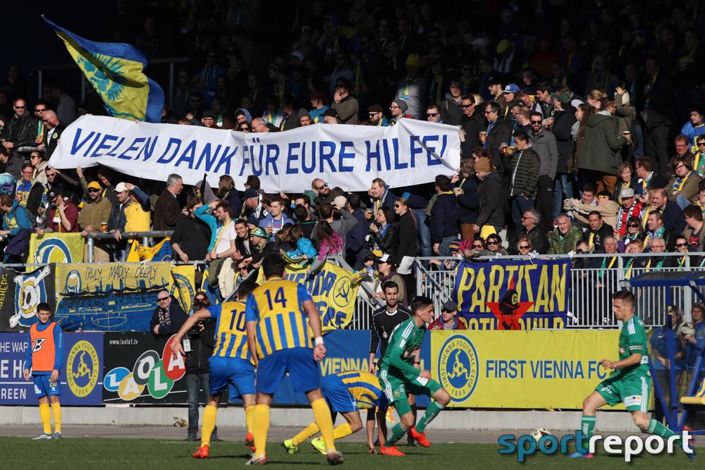 First Vienna FC 1894, SK Rapid Wien, Naturarena Hohe Warte, Benefizspiel