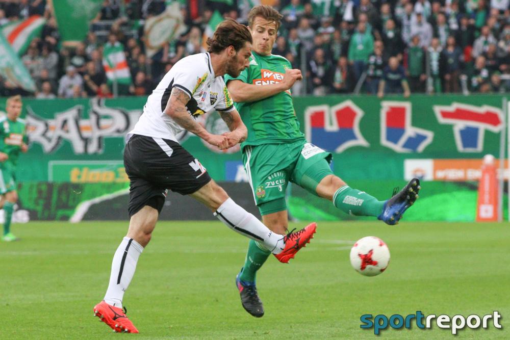 Fußball, Bundesliga, Tipico Bundesliga, Rapid Wien, SCR Altach, SCR Altach vs. Rapid Wien, 8. Runde