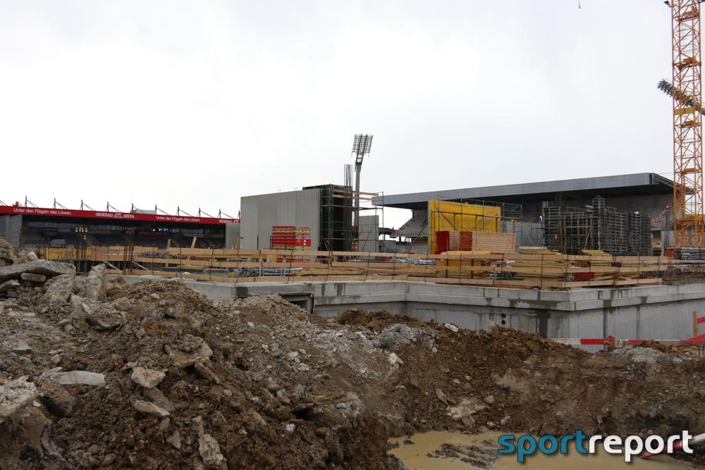 Generali Arena, Neubau, Generali Arena neu, tipico Bundesliga