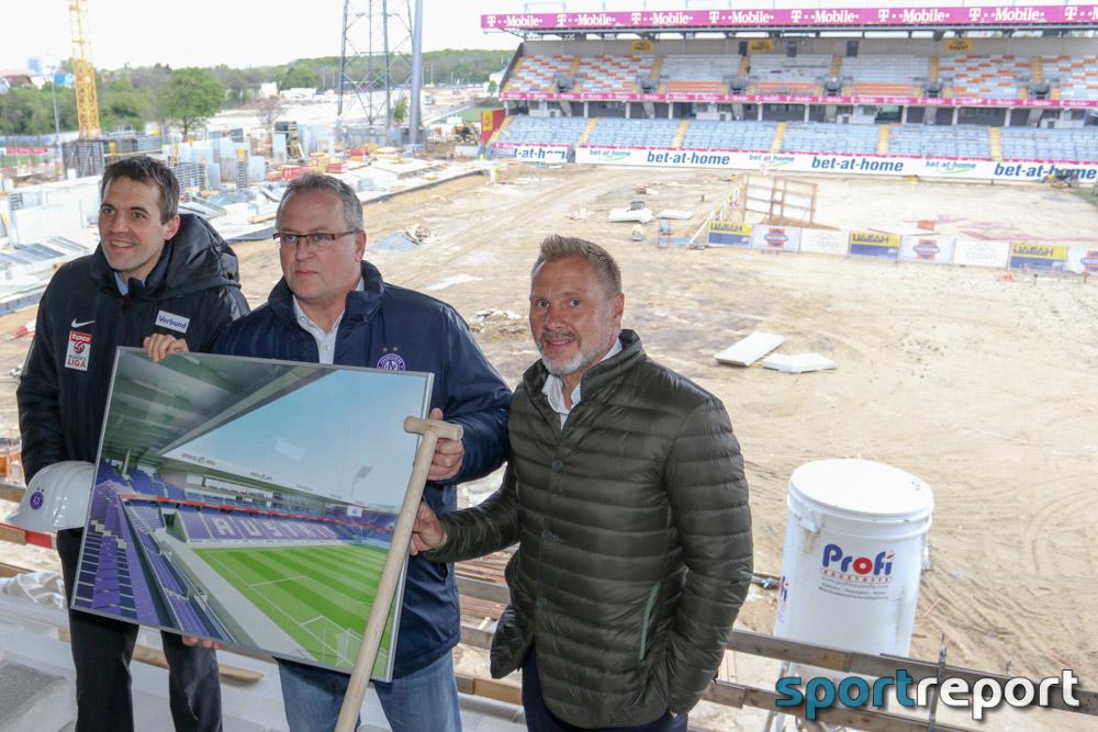 Umbau des Austria Stadion – Alles im Plan bei der Generali Arena