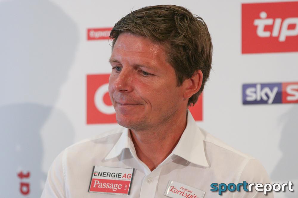 """Oliver Glasner (Trainer LASK): """"Für uns war es ein Auftakt nach Maß."""""""