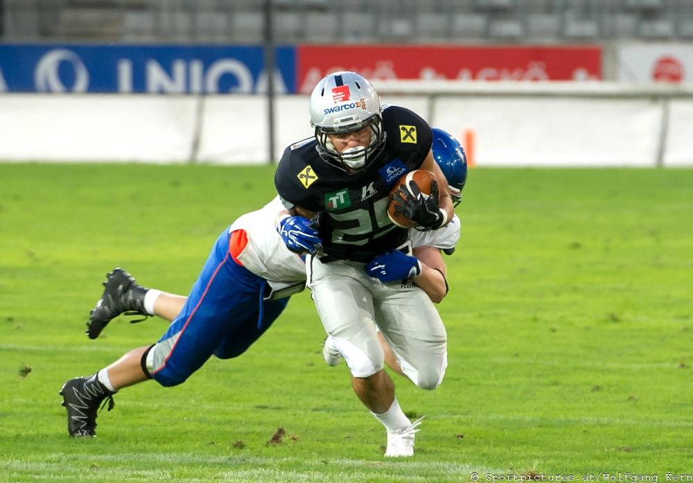 Swarco Raiders Tirol, Ljubljana Silverhawks, Tivoli Stadion, AFL