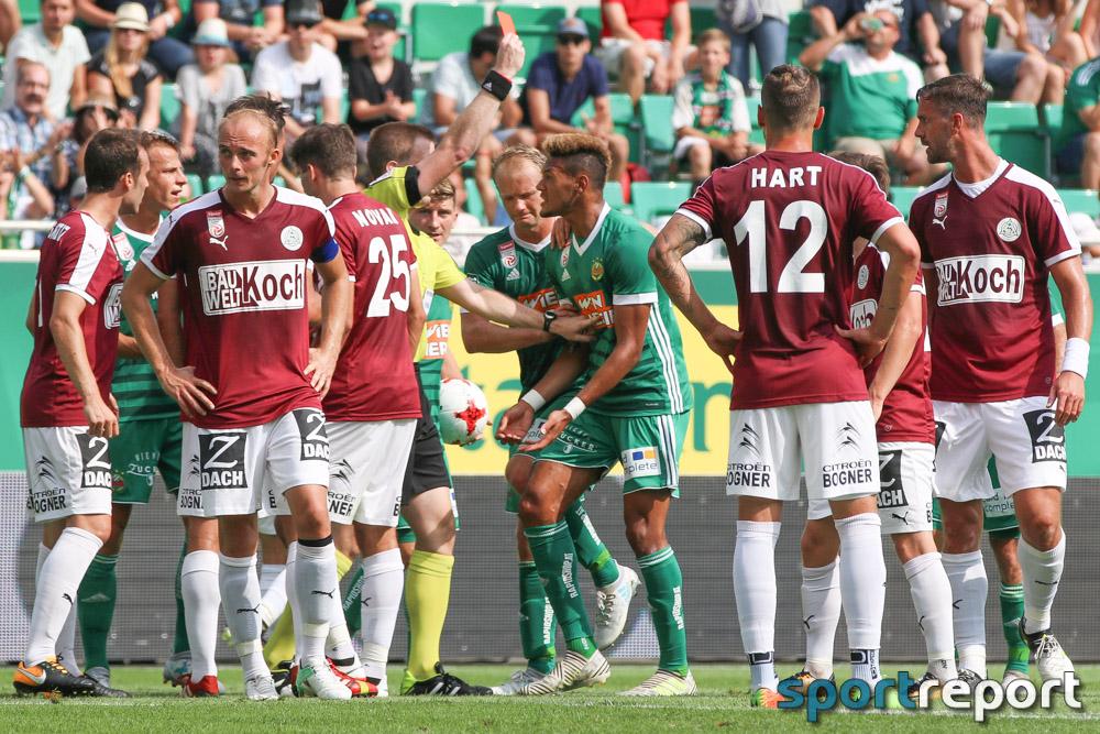Strafsenat sperrt Joelinton (SK Rapid Wien) für 2 Spiele (1 Spiel bedingt)