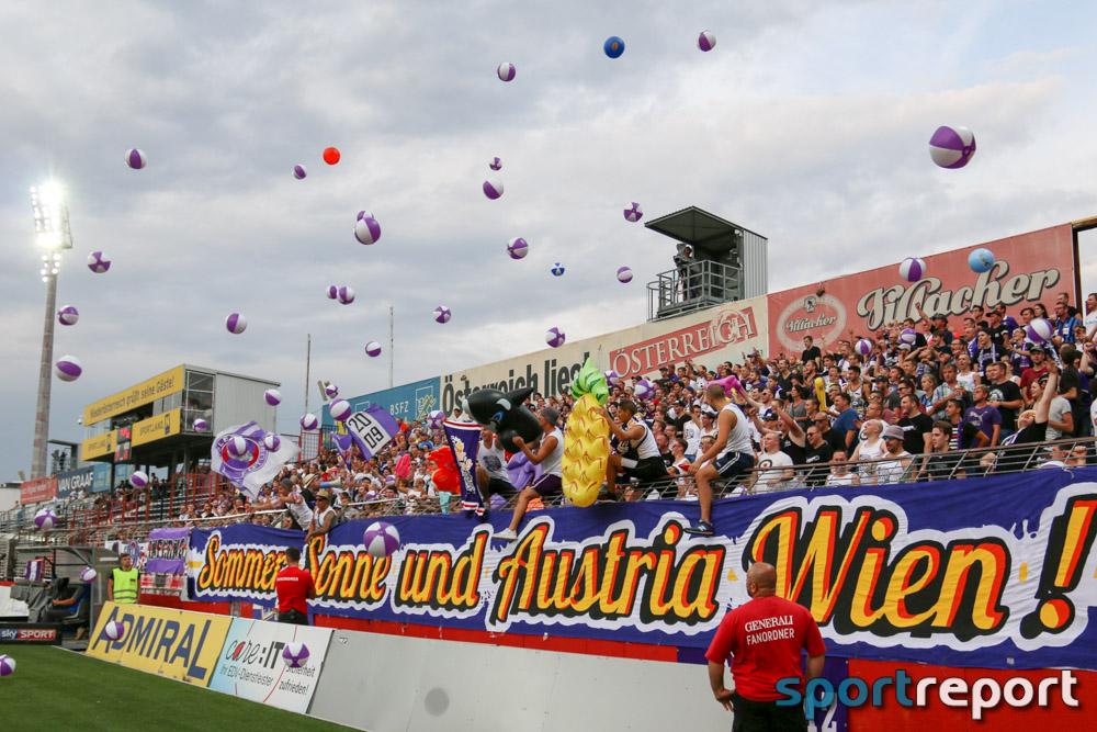 FC Flyeralarm Admira, FK Austria Wien, aus der BSFZ Arena, tipico Bundesliga