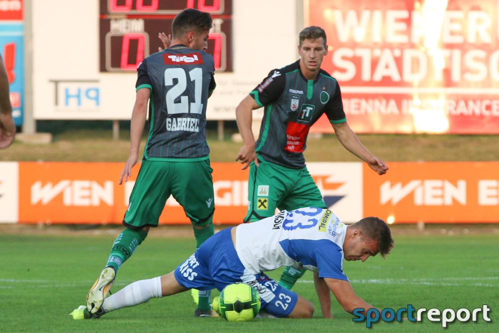 Fußball, Erste Liga, Floridsdorfer AC, Wacker Innsbruck