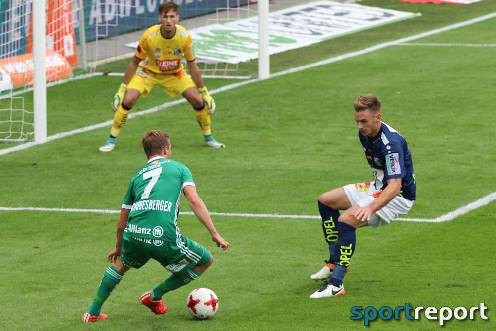 Fußball, Bundesliga, Tipico Bundesliga, Rapid Wien, WAC, Wolfsberg, 18. Runde Lavanttal-Arena, WAC vs. Rapid Wien