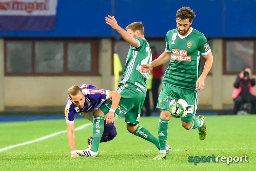 FK Austria Wien, SK Rapid Wien, aus dem Ernst Happel Stadion, ÖFB Cup