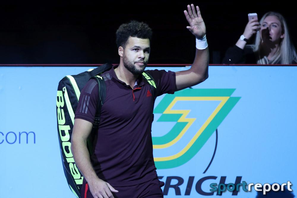 Jo-Wilfried Tsonga setzt sich im Viertelfinale gegen Alexander Zverev bei den Erste Bank Open durch