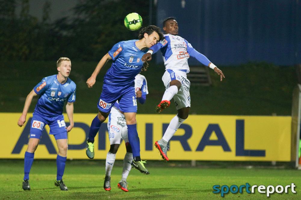 Floridsdorfer AC, FAC, Blau Weiß Linz, vom FAC Platz, Sky Go Erste Liga