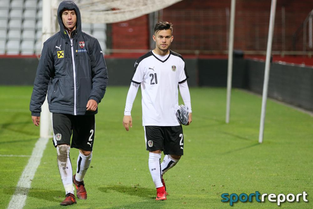Österreich, Serbien, aus der BSFZ Arena, U21 EM Qualifikation