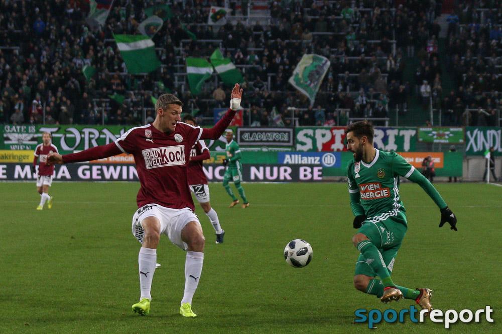 Fußball, Bundesliga, Rapid Wien, SV Mattersburg