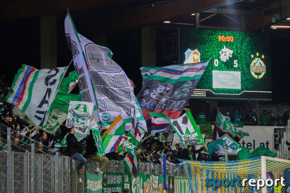 SKN St Pölten, SK Rapid Wien, NV Arena, tipico Bundesliga