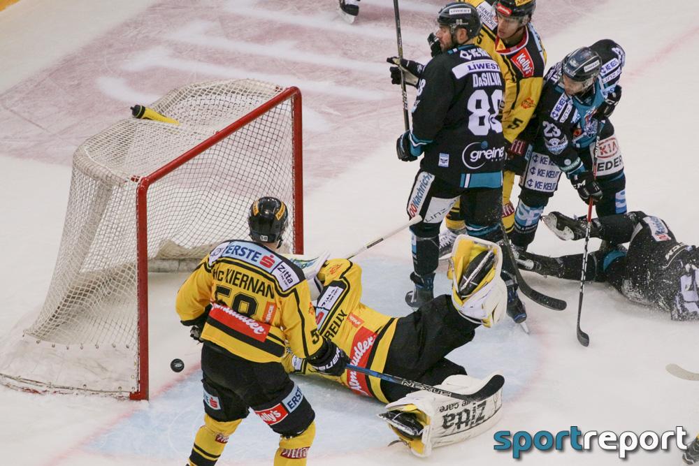 Eishockey, EBEL, Erste Bank Eishockey Liga, Vienna Capitals, Black Wings Linz, Keine Sorgen Eisarena, Black Wings Linz vs. Vienna Capitals
