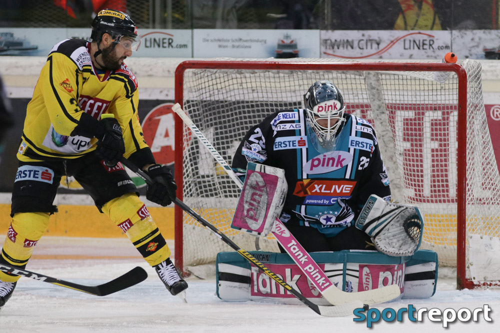 Eishockey, EBEL, Erste Bank Eishockey Liga, Vienna Capitals, Black Wings Linz, Black Wings Linz vs. Vienna Capitals