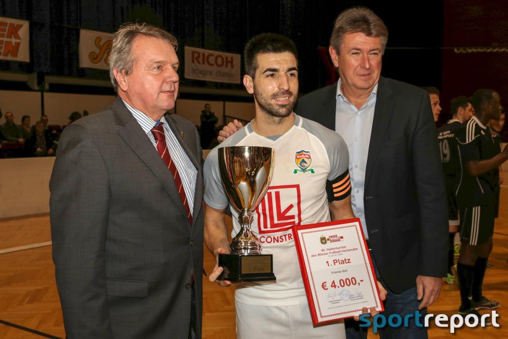 Das 40. Hallenturnier des WFV gewann Karabakh