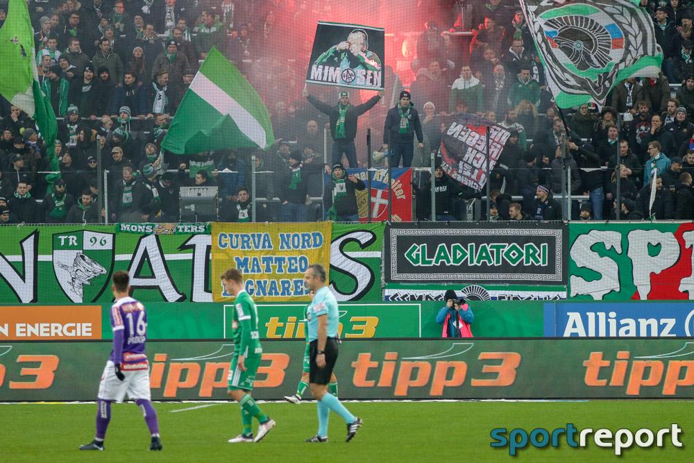 Fußball, Bundesliga, Tipico Bundesliga, Strafsenat, Wiener Derby, Austria Wien, Rapid Wien