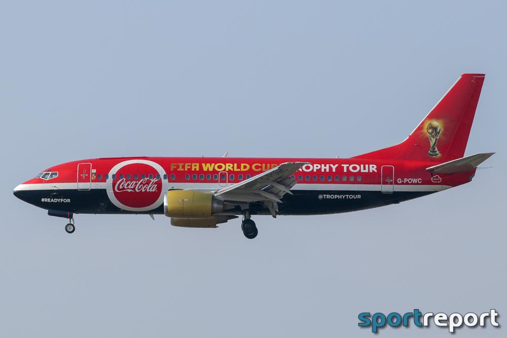 Riesenerfolg für die Coca-Cola FIFA World Cup Trophy™ Tour