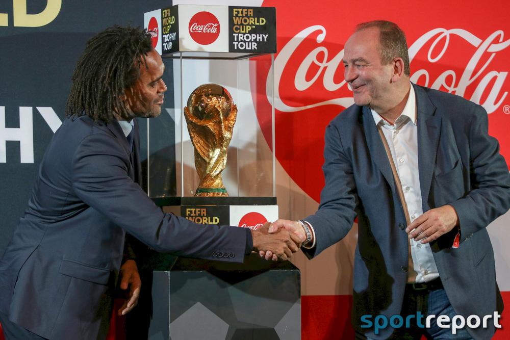 WM Pokal, Coca Cola, Wiener Rathaus, Reise