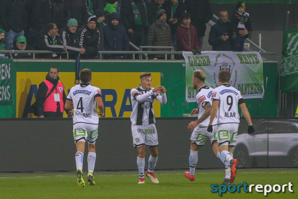 Fußball, tipico Bundesliga, Thorsten Röcher, Sturm Graz, FC Inglstadt