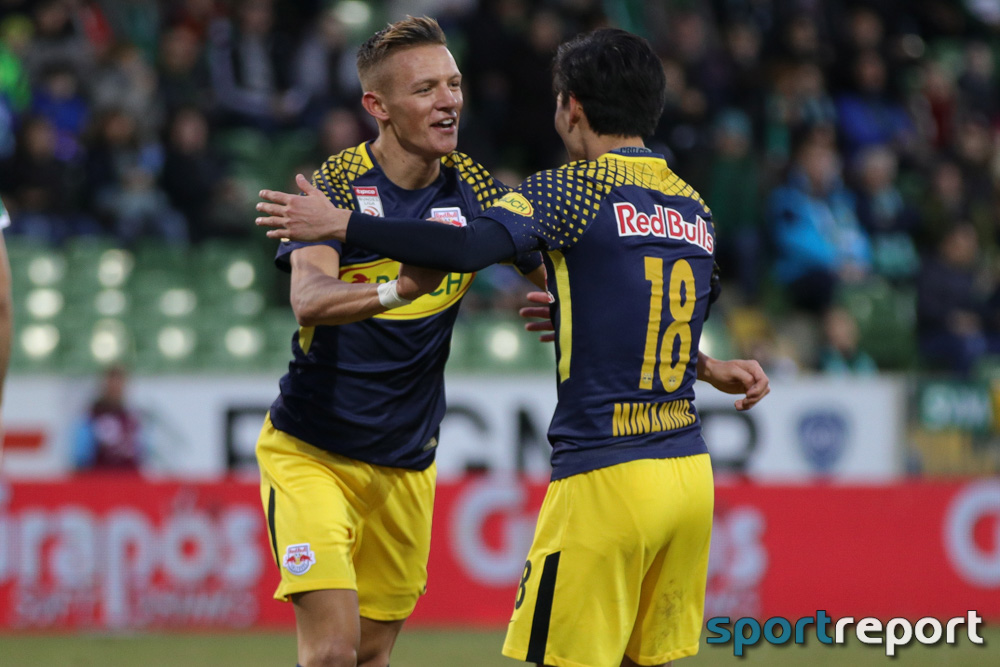 Fußball, Tipico Bundesliga, Red Bull Salzburg, SKN St. Pölten