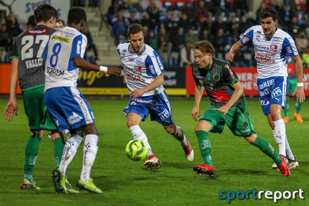 Floridsdorfer AC, FAC, FC Wacker Innsbruck, vom FAC Platz, Sky Go Erste Liga