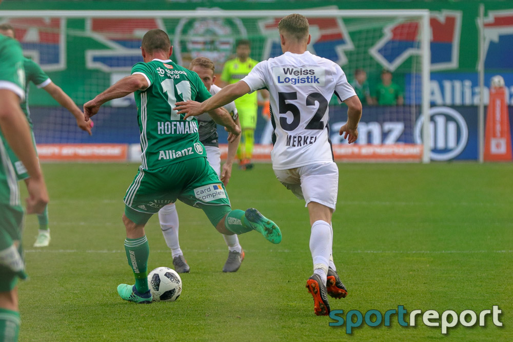 SK Rapid Wien, FC Flyeralarm Admira, aus dem Allianz Stadion, Tipico Bundesliga