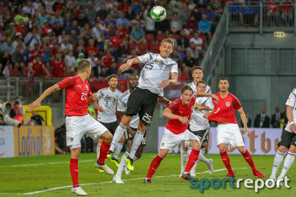 Österreich, Deutschland, Wörthersee Stadion, Klagenfurt, freundschaftliches Länderspiel