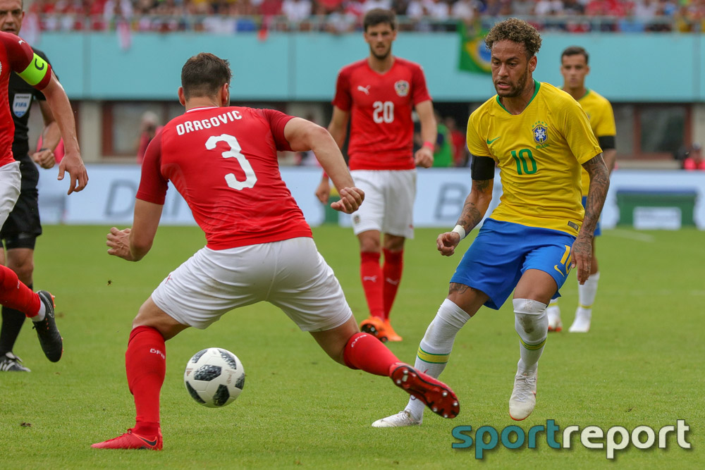 Österreich, Brasilien, aus dem Ernst Happel Stadion, freundschaftliches Länderspiel