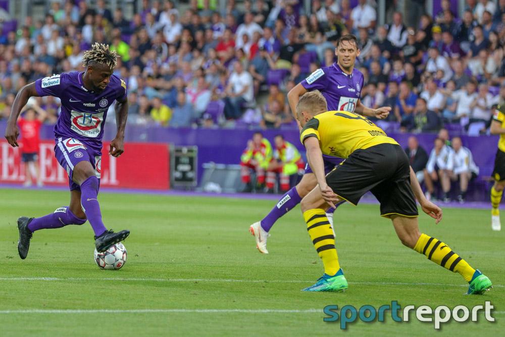 FK Austria Wien, Borussia Dortmund, aus der neuen Generali Arena, Freundschaftsspiel