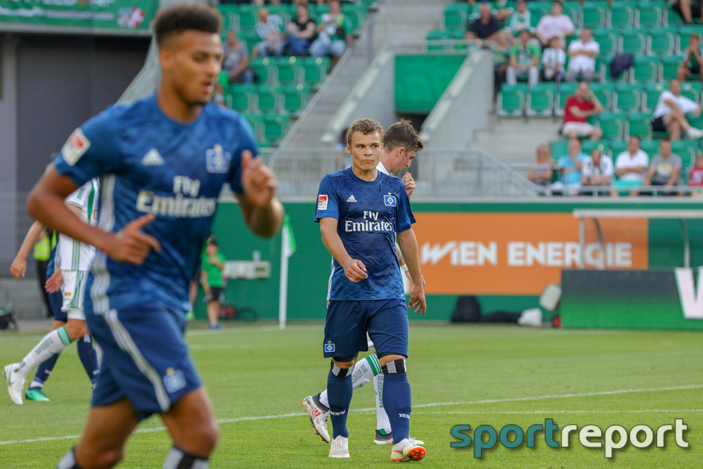 SK Rapid Wien, Hamburger SV, aus dem Allianz Stadion, Freundschaftsspiel