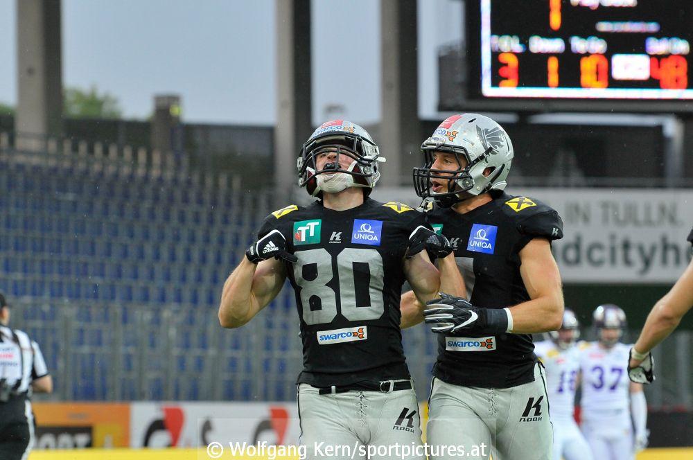 Vienna Vikings, Swarco Raiders Tirol, NV Arena, St Pölten, Austrian Bowl XXXIV