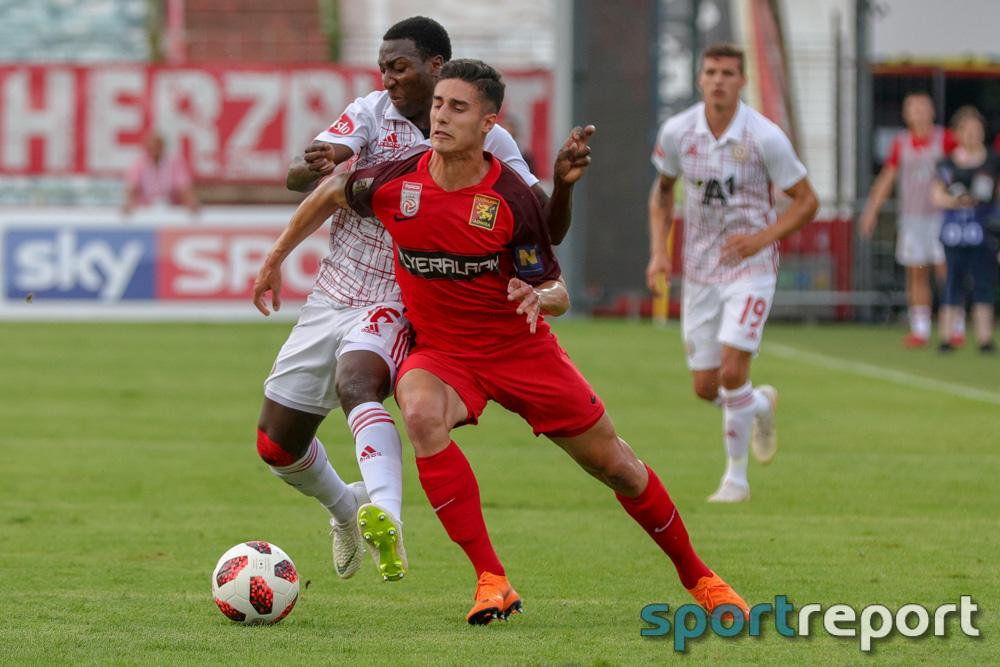 FC Flyeralarm Admira, ZSKA Sofia, aus der BSFZ Arena, Europa League Qualifikation