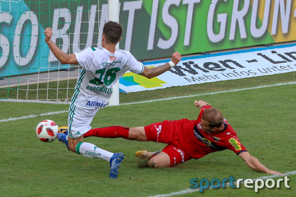 Rapid rettet Punkt mit Last-Minute-Tor gegen SCR Altach