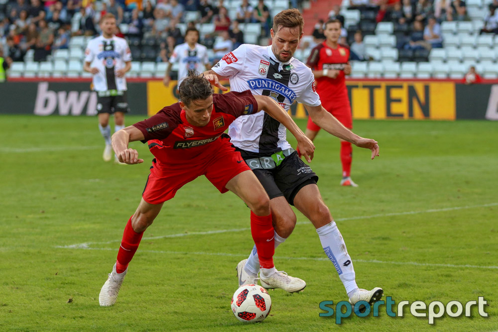 FC Flyeralarm Admira, SK Sturm Graz, aus der BSFZ Arena, tipico Bundesliga