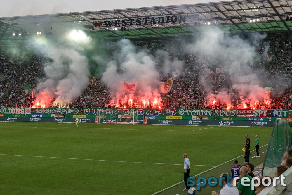 SK Rapid Wien, FK Austria Wien, aus dem Allianz Stadion, tipico Bundesliga