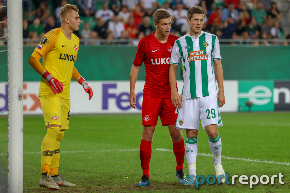 SK Rapid Wien, Spartak Moskau, aus dem Allianz Stadion, Europa League