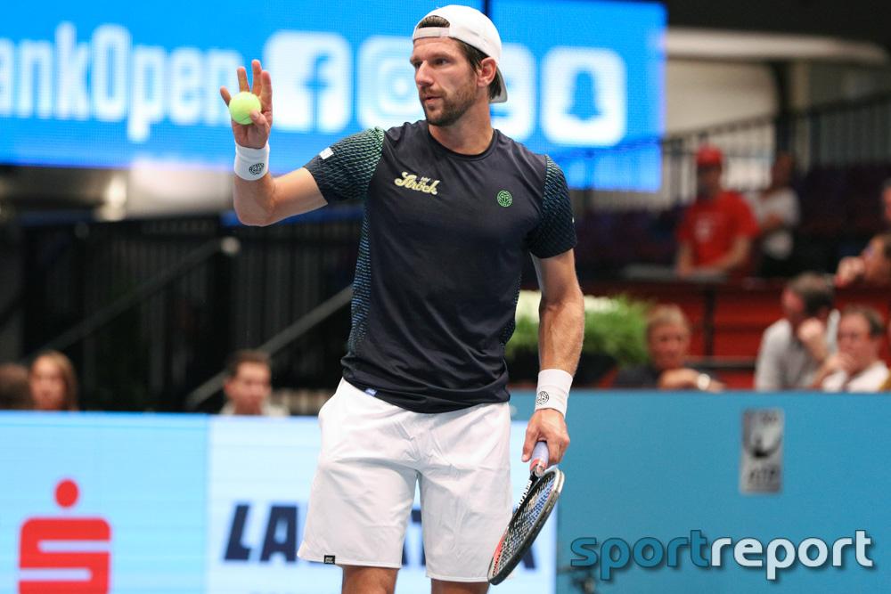 Jürgen Melzer schlägt Raonic und ist bei den Erste Bank Open eine Runde weiter