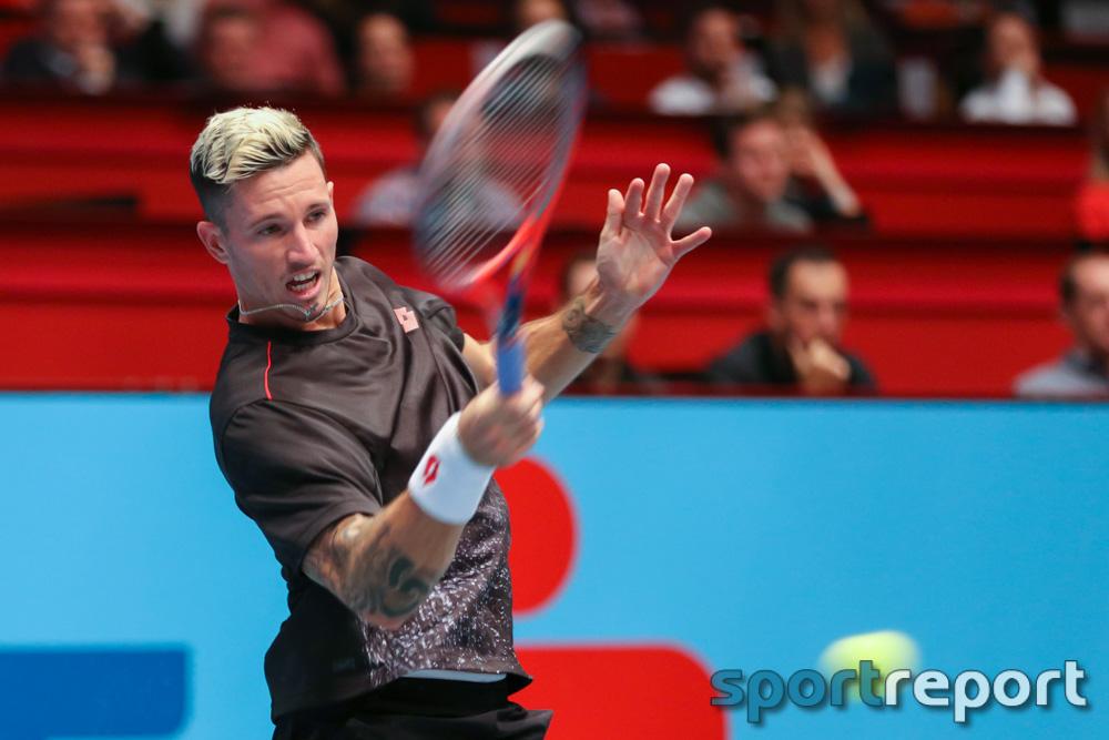 Dennis Novak scheitert in der Auftaktrunde der Erste Bank Open am Russen Karen Khachanov