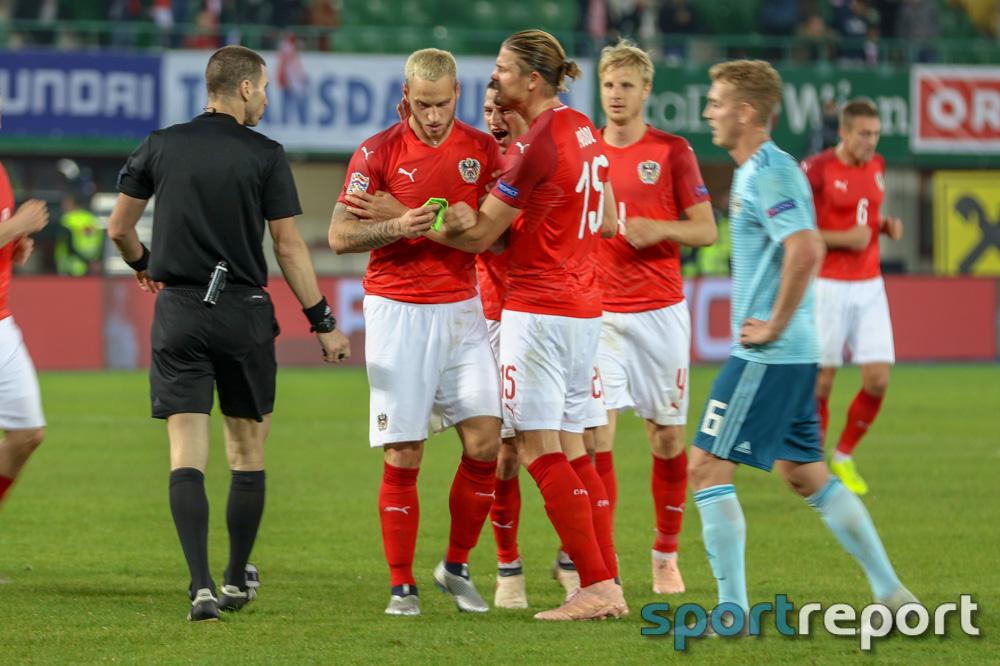 Österreich, Nordirland, aus dem Ernst Happel Stadion, Nations League